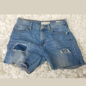 Bullhead Juniors DIY Cutoff Jean Short sz 1